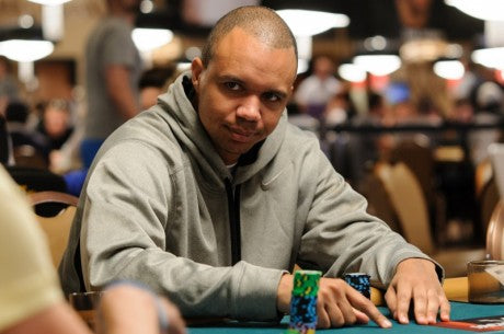 Phil Ivey, finished 8th in 2012 WSOP Event #35