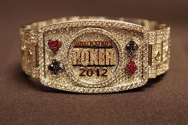 2012 WSOP main event bracelet