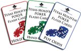 Pack of Poker Flash Cards