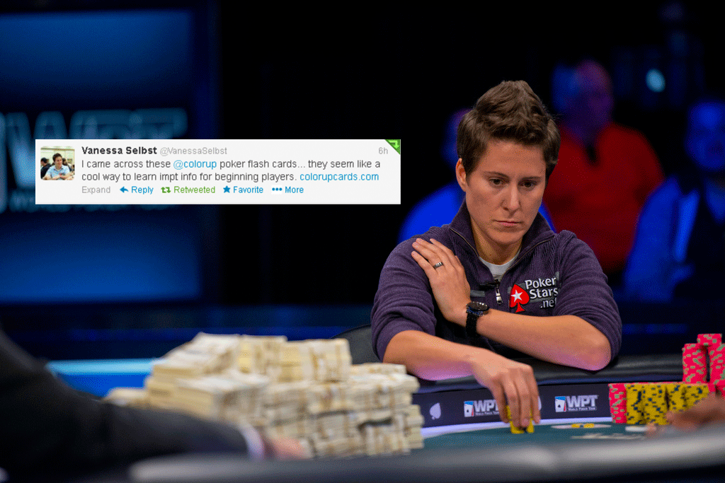 Vanessa Selbts tweets about Color Up