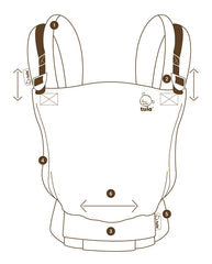 Tula Free to Grow Adjustable Soft Structured Carrier