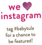 We ♥ Instagram – tag #babytula for a chance to be featured!