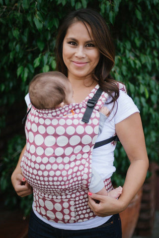 Full Toddler WC Carrier - Pearl Bordeaux Wrap Conversion | Baby Tula