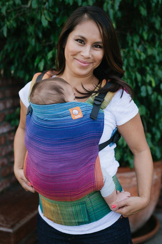 Full Standard WC Carrier - Cameo Azul Capitan I Wrap Conversion - Baby Tula