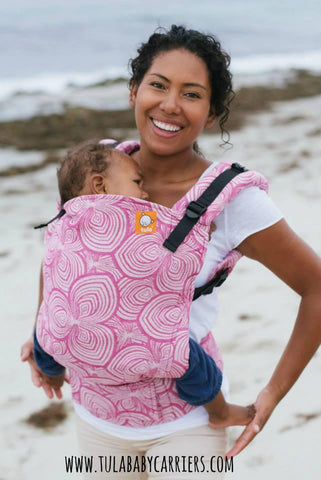 Full Toddler WC Carrier - Priya Petunia Wrap Conversion - Baby Tula