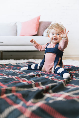 Pebble Plaid - Tula Baby Swaddle Blanket