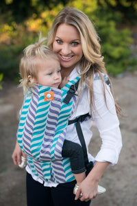 Half Toddler WC Carrier - Migaloo Playful Wrap Conversion - Baby Tula