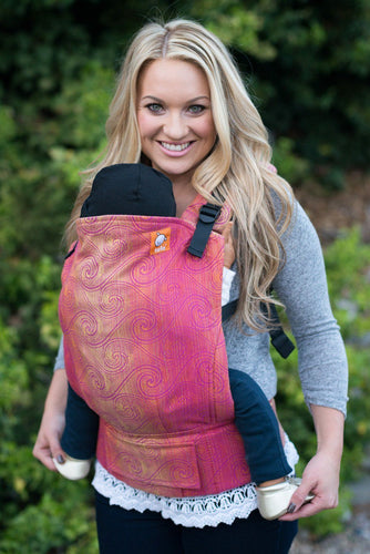 Full Toddler WC Carrier - Zephyr Rose Wrap Conversion - Baby Tula