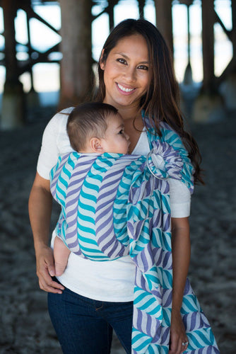Migaloo Playful - Wrap Conversion Ring Sling Ring Sling - Baby Tula