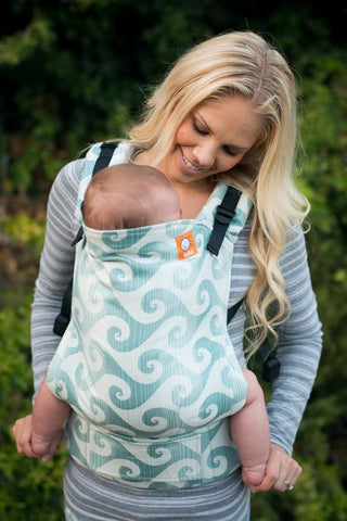 Half Standard WC Carrier - Surf Tourmaline Wrap Conversion - Baby Tula