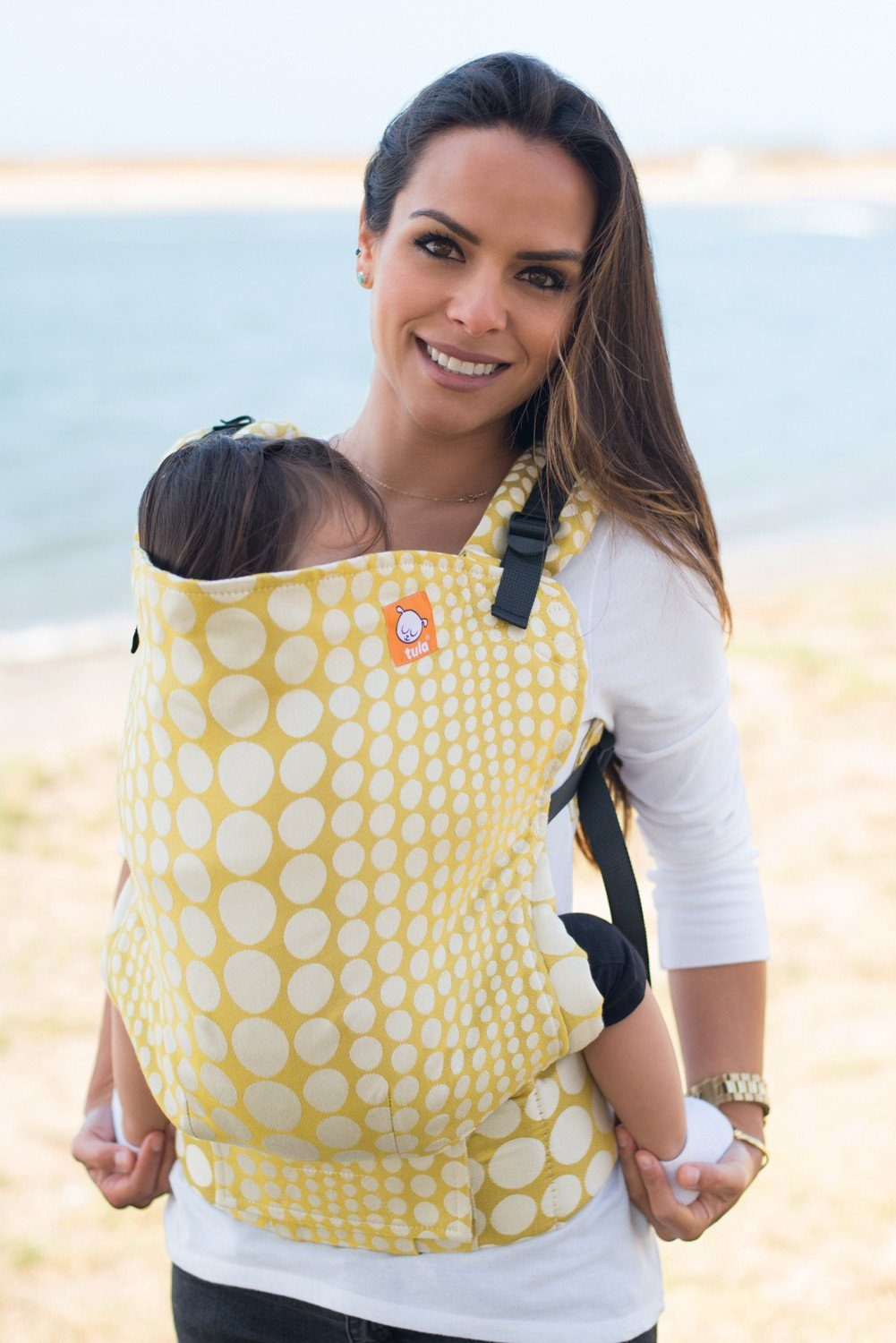 Full Toddler WC Carrier - Pearl Firenze 2 Wrap Conversion | Baby Tula