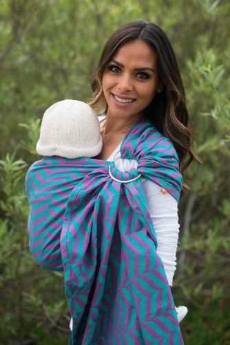 Migaloo Elated - Wrap Conversion Ring Sling Ring Sling - Baby Tula