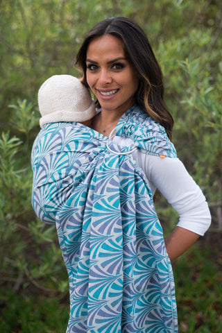 Splendor Bloom - Wrap Conversion Ring Sling Ring Sling - Baby Tula
