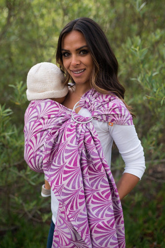 Splendor Blush - Wrap Conversion Ring Sling Ring Sling - Baby Tula