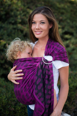 Ananas Tart - Cotton Ring Sling