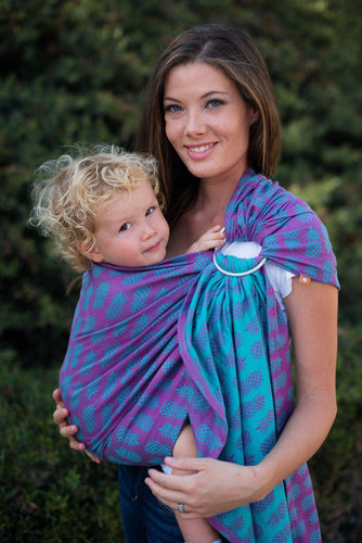 Ananas Tropical - Wrap Conversion Ring Sling Ring Sling - Baby Tula