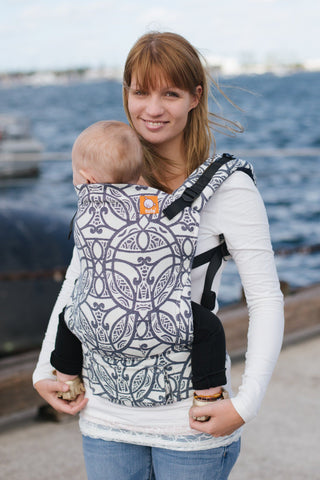 Half Standard WC Carrier - Whenua Navy Wrap Conversion - Baby Tula
