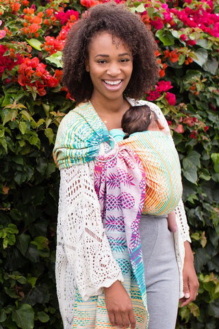 Ananas Athena - Cotton Ring Sling