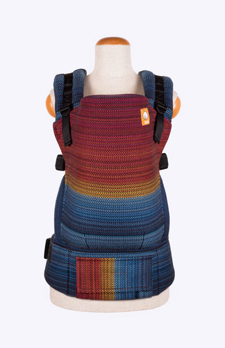 Apple Blossom Wovens Journey Black - Tula Signature Baby Carrier