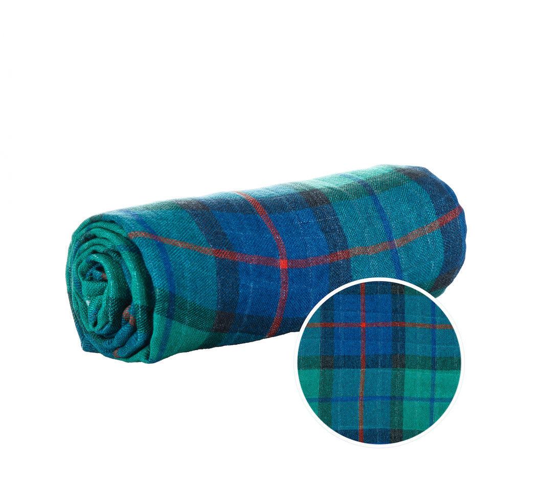 Spruce Plaid - Tula Cuddle Me Blanket