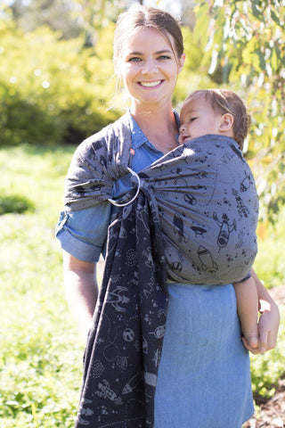 Blast Off Moonrock - Cotton Ring Sling