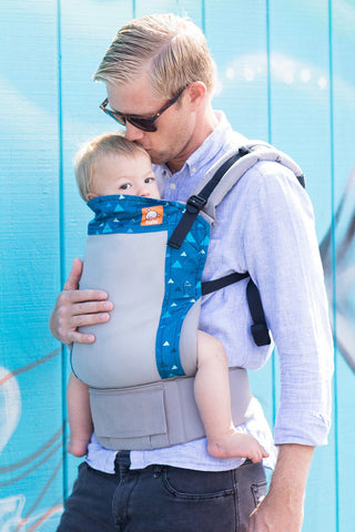 Coast Blue Peaks - Tula Baby Carrier