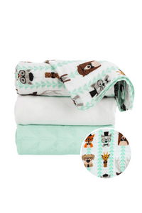 Clever  - Tula Baby Blanket Set