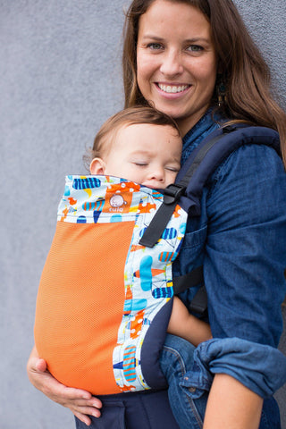 Coast Pilot - Tula Baby Carrier Ergonomic Coast Baby Carrier - Baby Tula