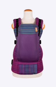 Coast Apple Blossom Wovens Twilight Fuchsia - Tula Signature Baby Carrier