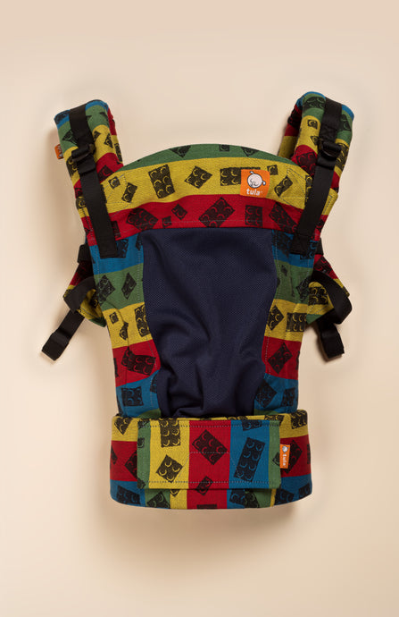 Coast DBG Baby If You Build It - Master Builder - Tula Signature Baby Carrier Tula Wrap Conversion | Baby Tula