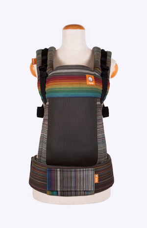 Baby Tula Full Coast Free-to-Grow WC - Girasol Fierce Rainbow Perla Humada Weft Wrap Conversion