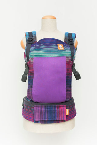 Baby Tula Full Coast Toddler WC - Girasol Geneva Cuervo Weft (Purple)