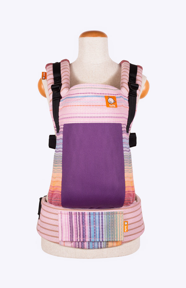 Coast Girasol Gilded Wings Rosa Fuchsia Diamond Weave - Tula Signature Baby Carrier