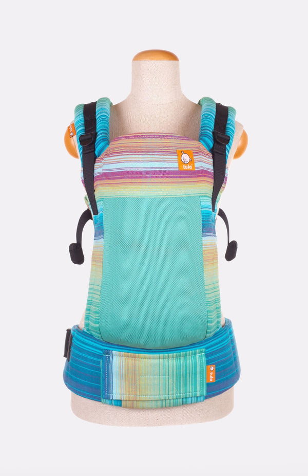 Baby Tula Full Coast Toddler WC - Girasol Iridescent Dreams Azul Pacifico Weft