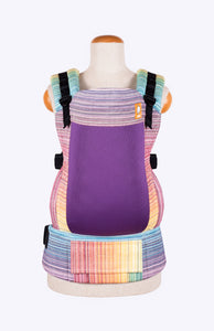 Coast Girasol Magnificent Rainbow (crema de nube weft) - Tula Signature Baby Carrier Wrap Conversion