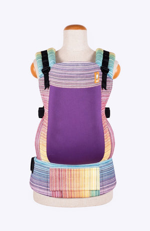 Baby Tula Full Coast Toddler WC - Girasol Magnificent Rainbow Crema de Nube Weft
