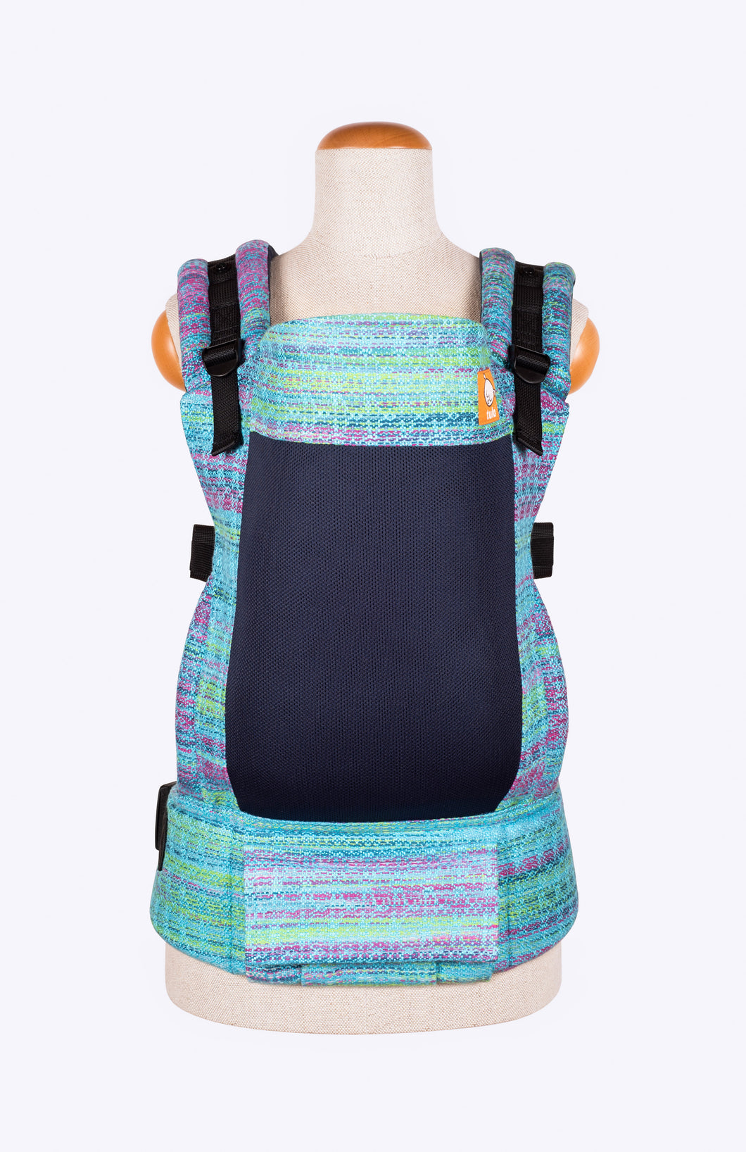 Coast Ljhandwovens Wildflower Turquoise - Tula Signature Baby Carrier