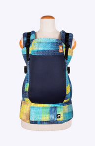 Coast Luz Sunshine Waterfall Sparkle Hand-Dyed Weft - Tula Signature Baby Carrier