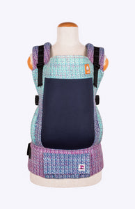 Coast Mad Hatter Travel With Me Handpainted with Speckles - Tula Signature Baby Carrier