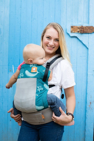 Coast Narwhal - Tula Free-to-Grow Baby Carrier
