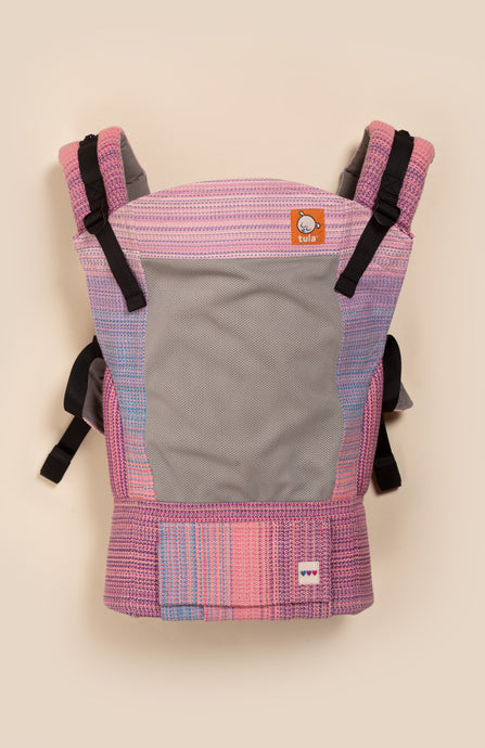 Coast OobieBean&Dolly Ari (rose pale weft) - Tula Signature Baby Carrier