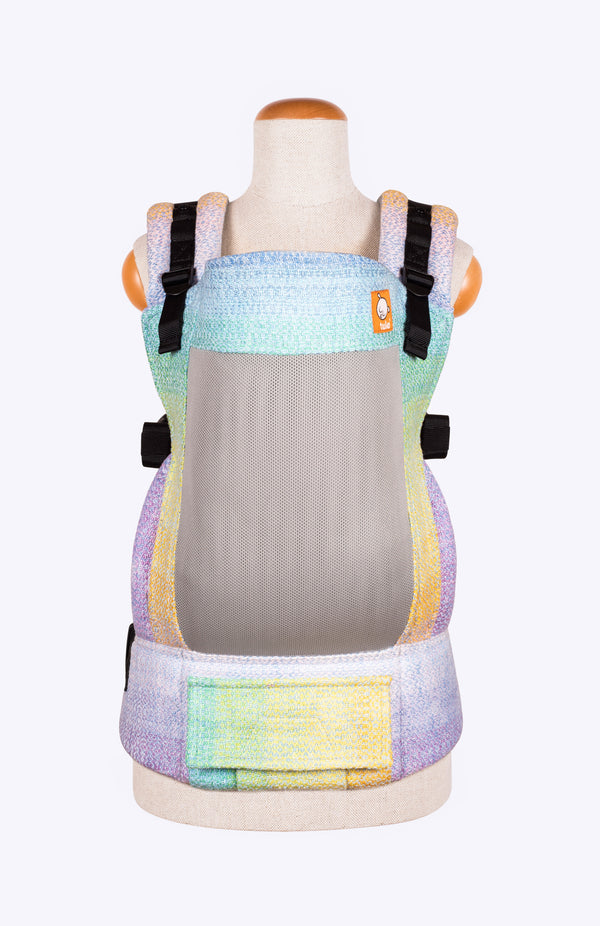 Coast Rhockett Weaving PaintBow Periwinkle - Tula Signature Baby Carrier