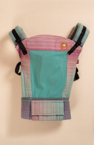 Coast Stewed Rhubarb Starry Eyes Pale Blue - Tula Signature Baby Carrier