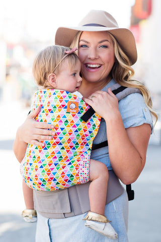 Confetti Pop - Tula Baby Carrier Ergonomic Baby Carrier - Baby Tula