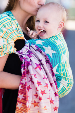 Ring Sling Constellation Athena - Wrap Conversion Ring Sling - Baby Tula - 2