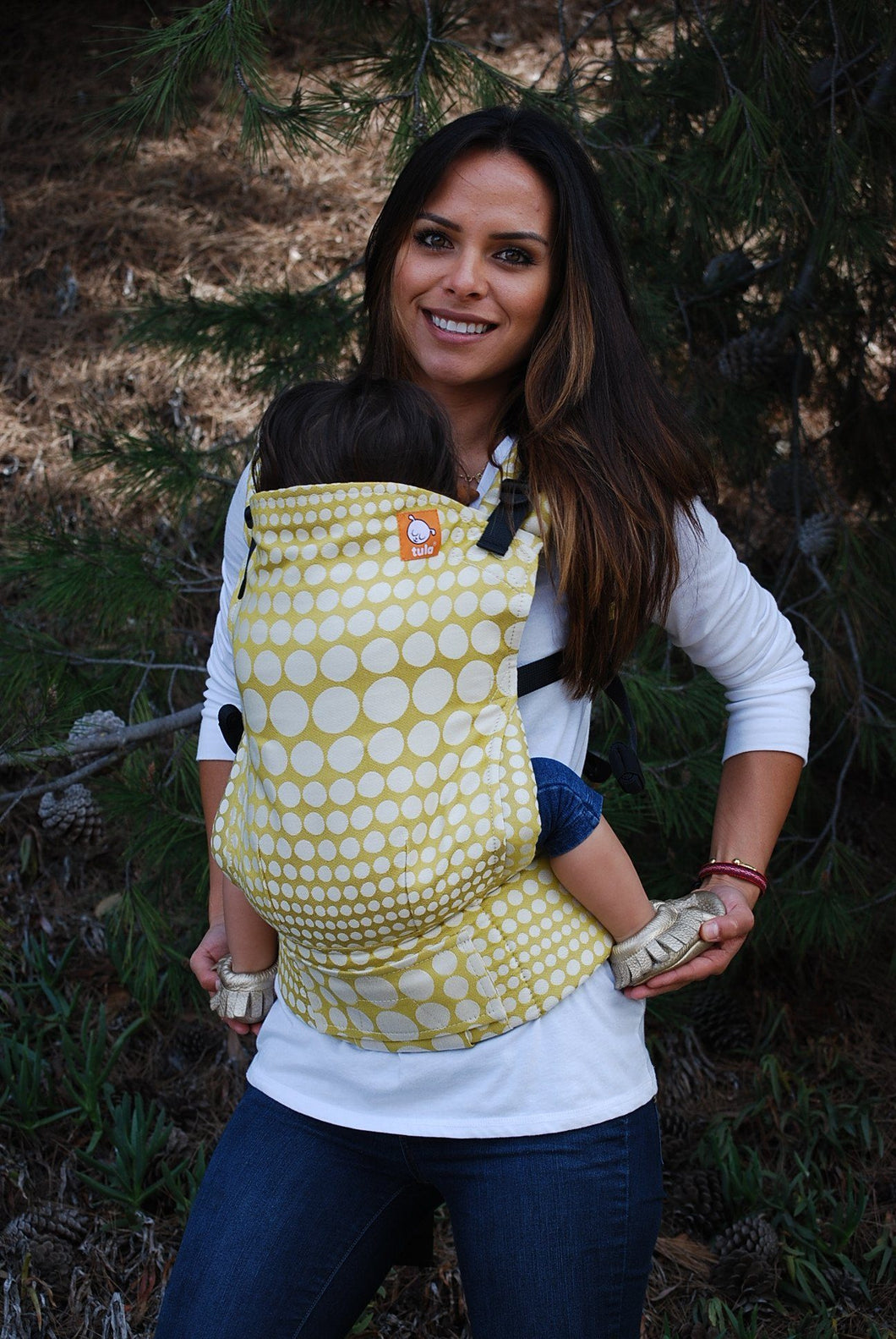 Full Toddler WC Carrier - Pearl Firenze Wrap Conversion - Baby Tula