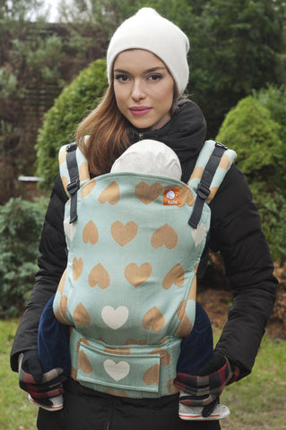 Full Standard WC Carrier - Love Avant-Garde Wrap Conversion - Baby Tula