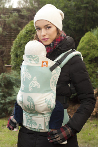 Full Standard WC Carrier - Night Star Teal Wrap Conversion - Baby Tula