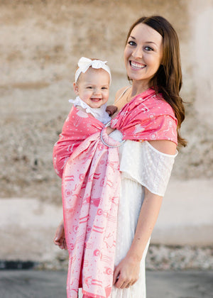 Dancey Doll Shuffle - Wrap Conversion Ring Sling Ring Sling - Baby Tula