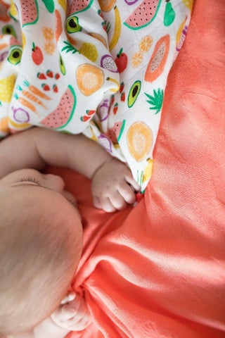 Juicy Persimmon - Tula Baby Blanket